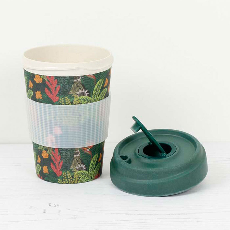 Jungle Look Bamboo Travel Cup