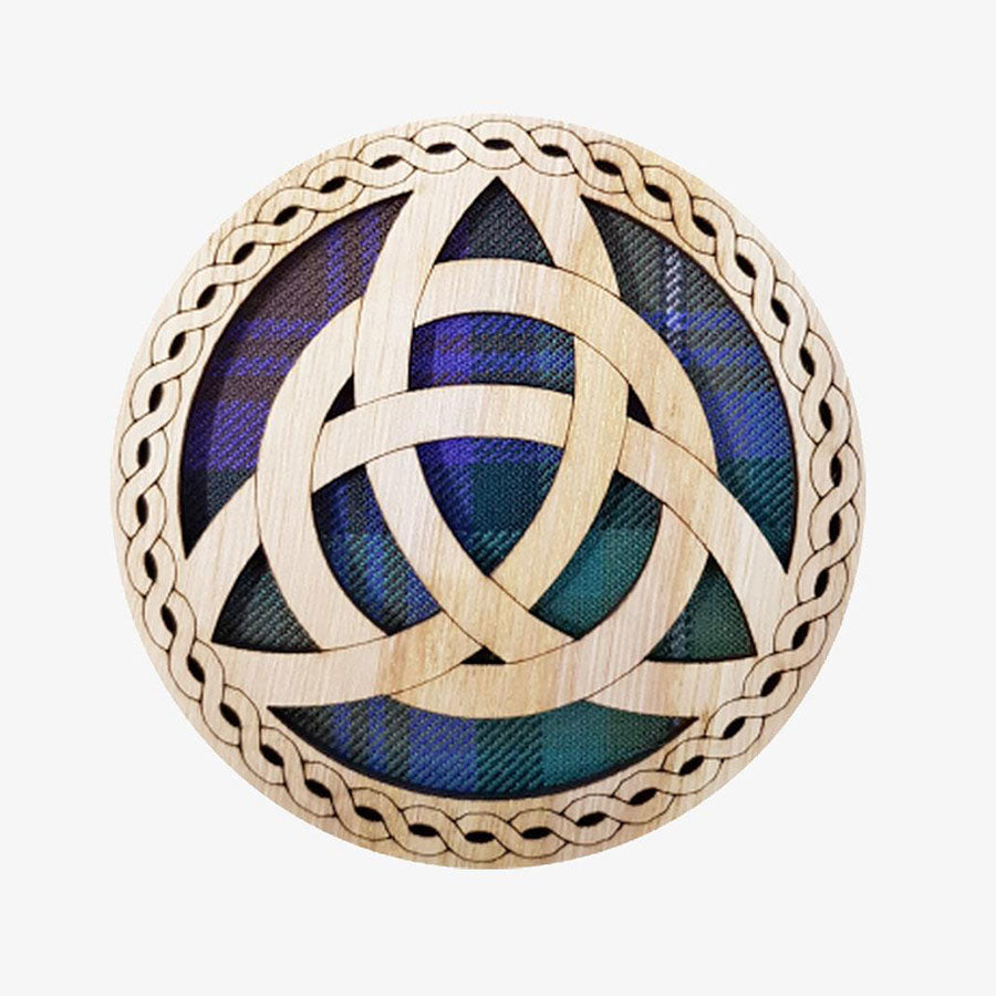 Celtic Knot Round Coaster