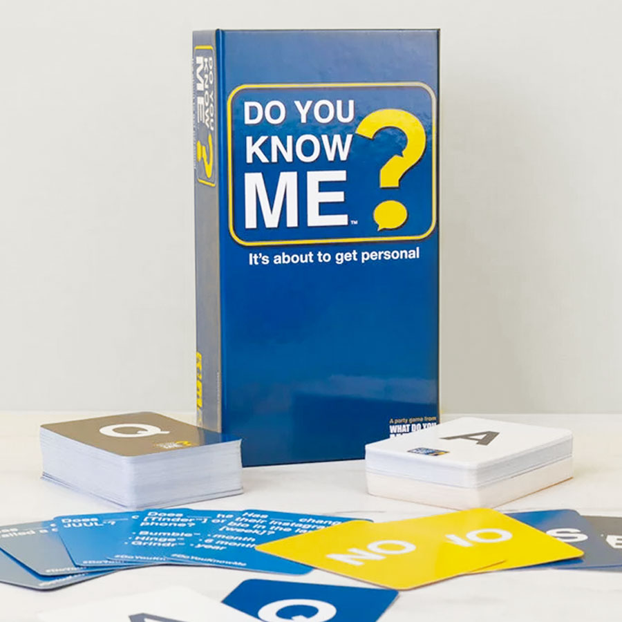 Do You Know Me Game