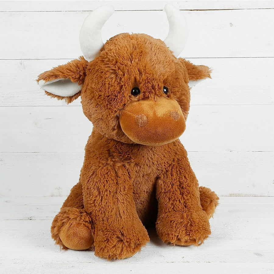 Large Highland Coo Soft Toy