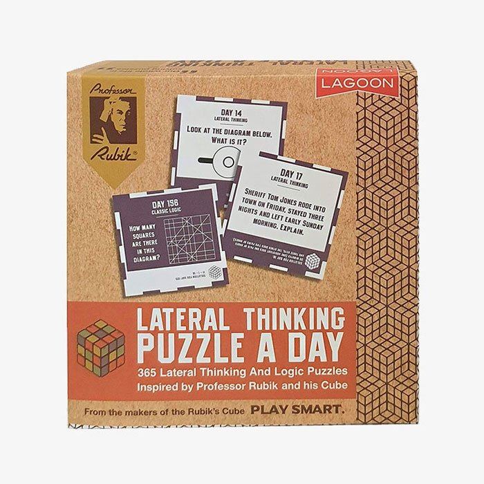 Rubik Lateral Thinking Puzzle Desk Block