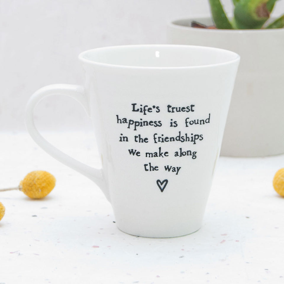Life's Truest Happiness Mug Set
