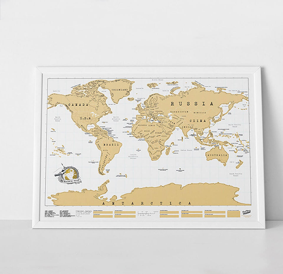 Scratch Map Personalised