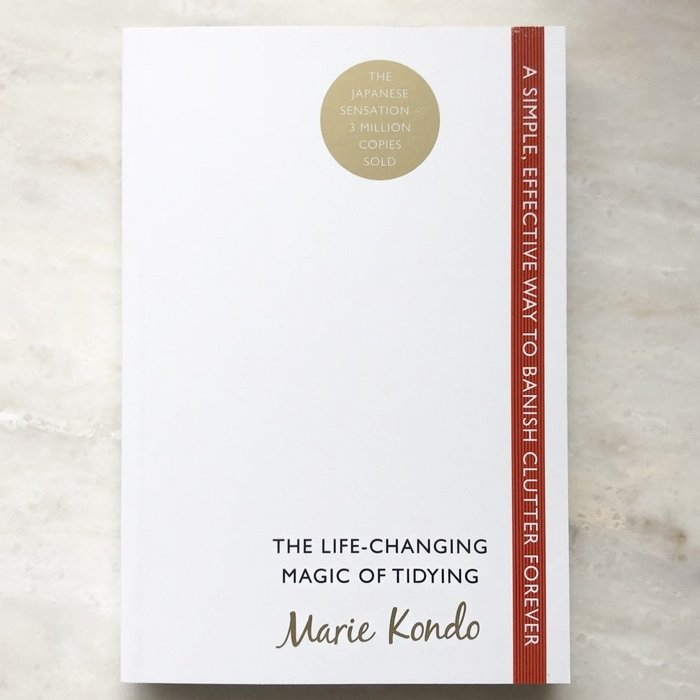 Life Changing Magic of Tidying Book | Marie Kondo