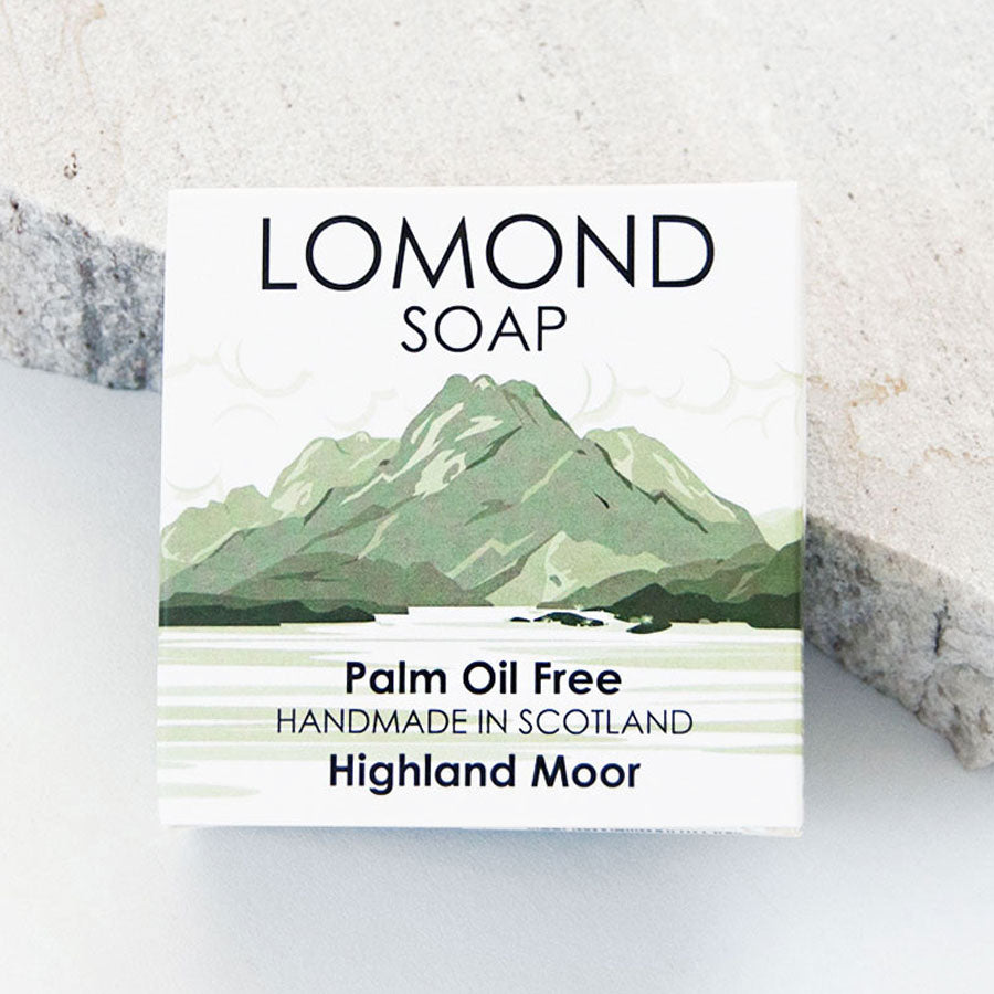 Highland Moor Soap Bar