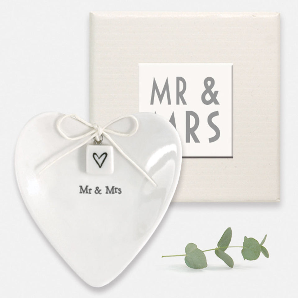 Mr & Mrs Wedding Ring Dish