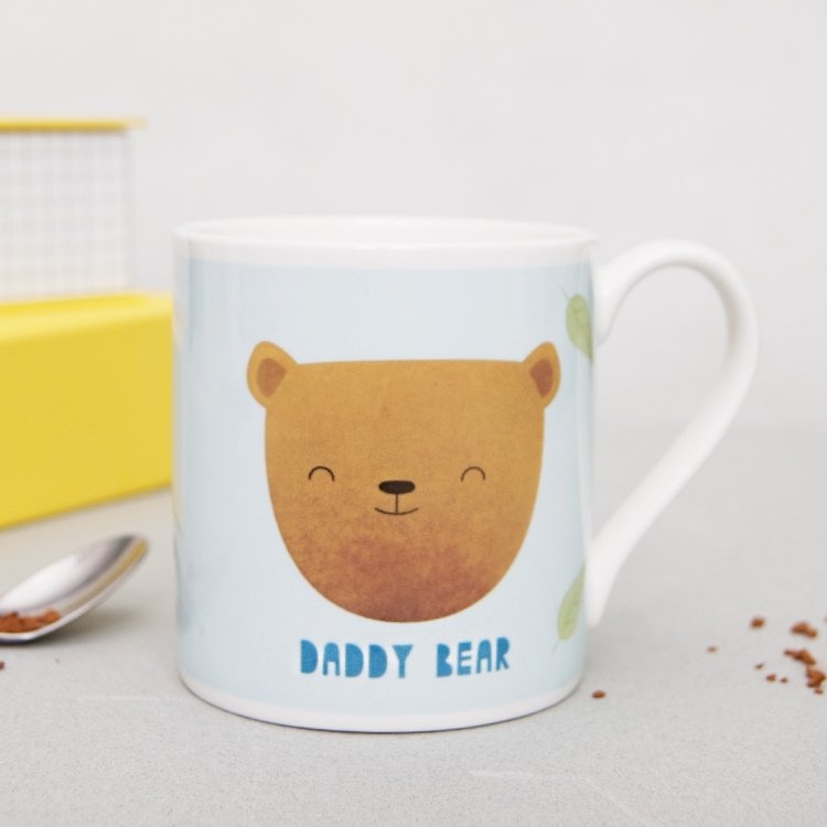 Daddy Bear Cartoon Mug