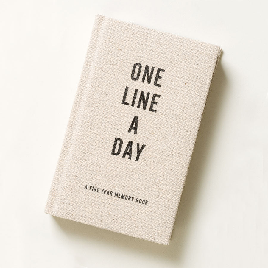 Canvas One Line A Day Five Year Notebook
