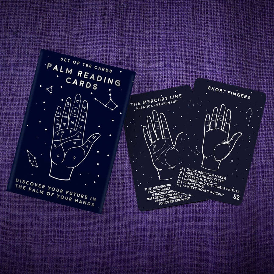 Palm Reading Trivia Cards