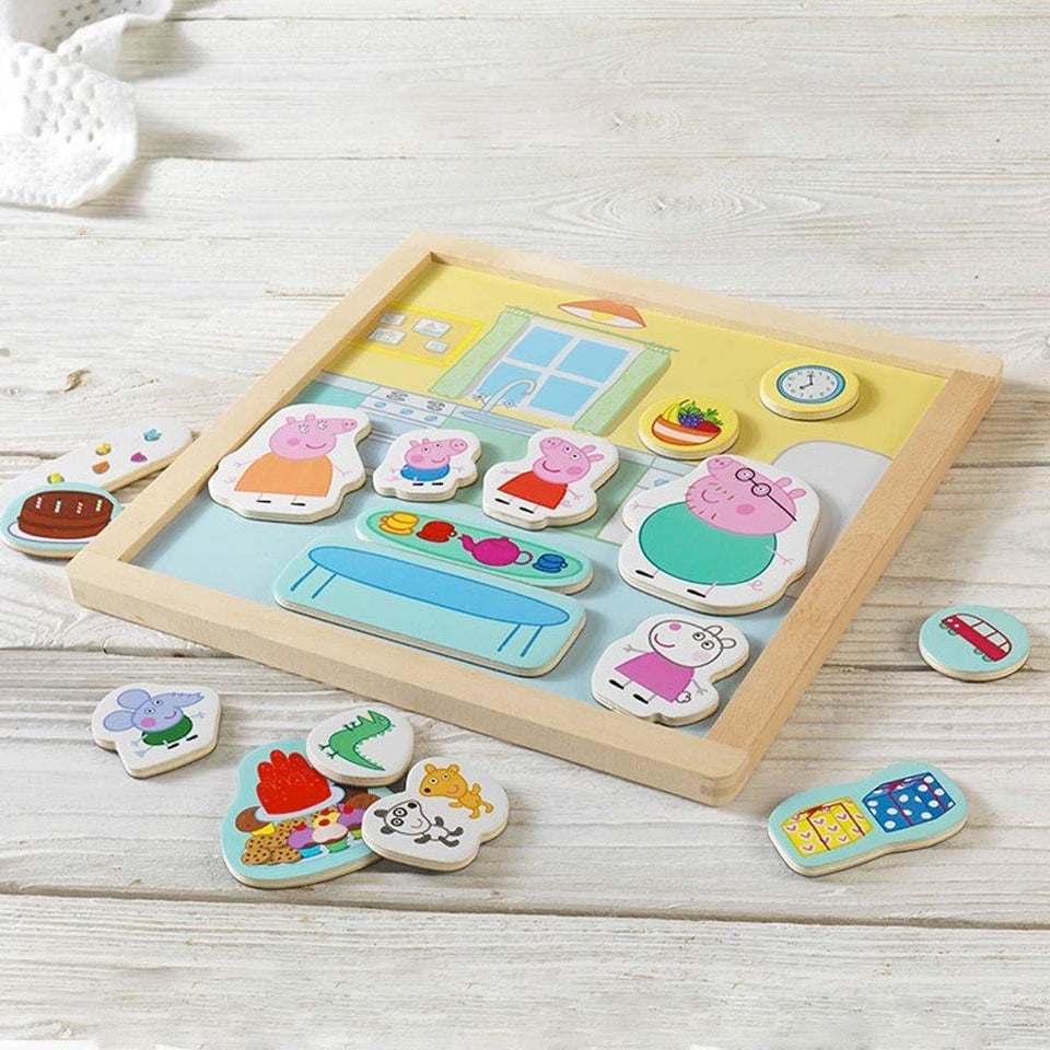 Peppa Pig Magnetic Set