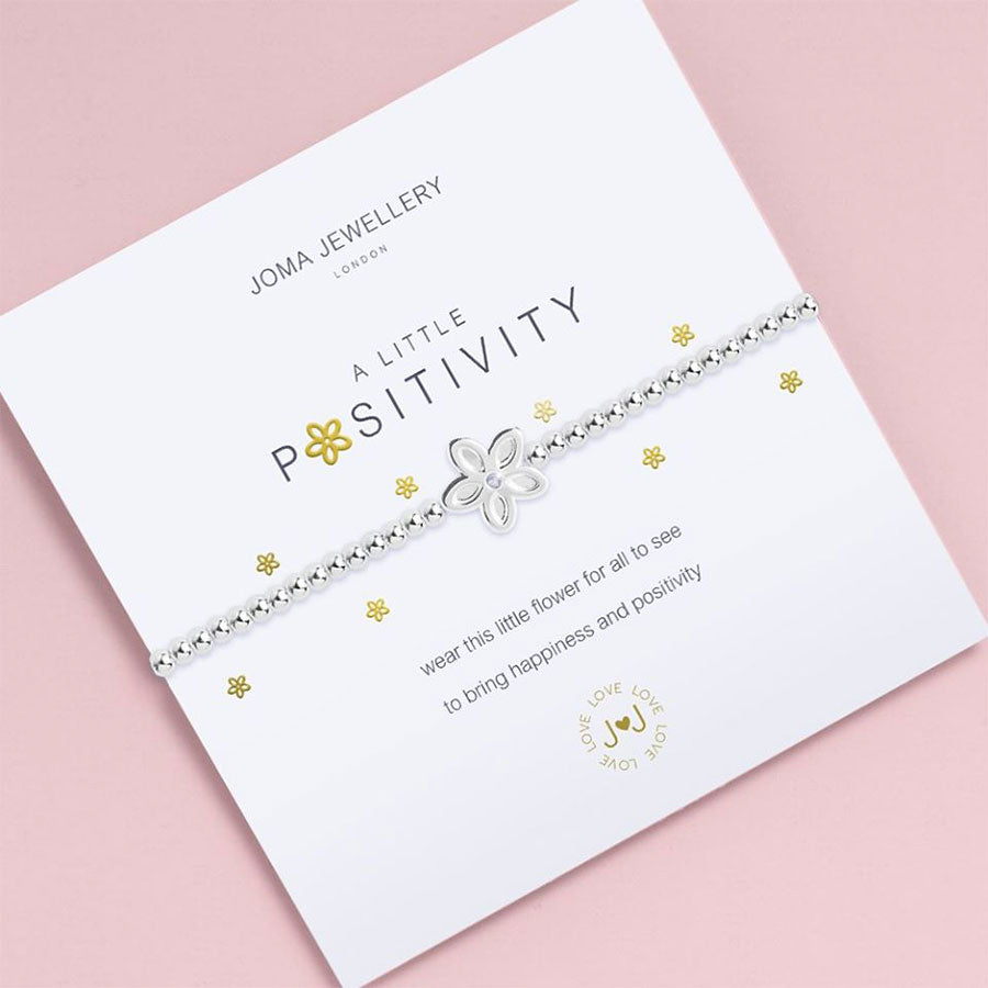 A Little Positivity Charm Bracelet