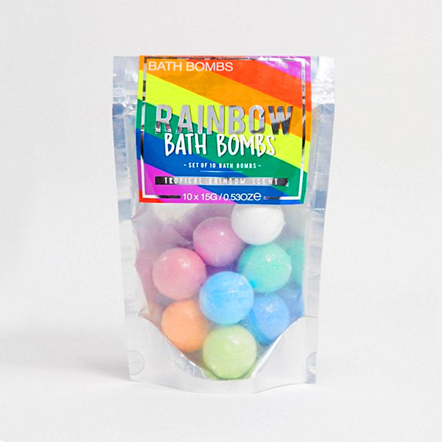 Rainbow Bath Bombs