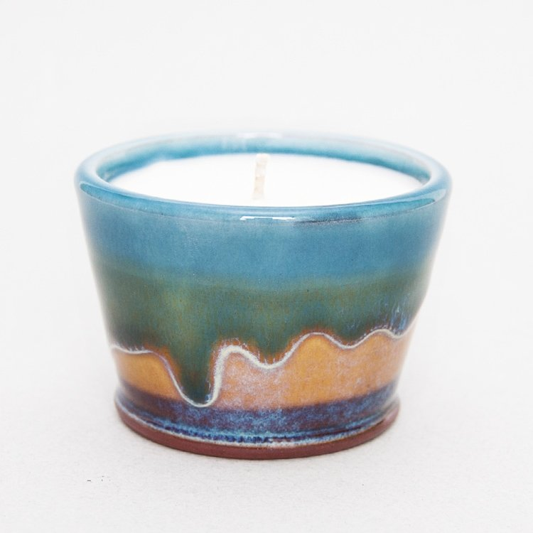 Ceramic Drip Kitchen Candle Pot