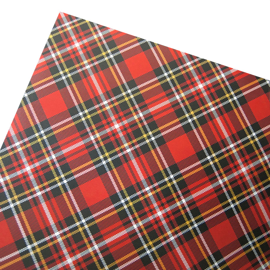 Red Tartan Wrapping Paper