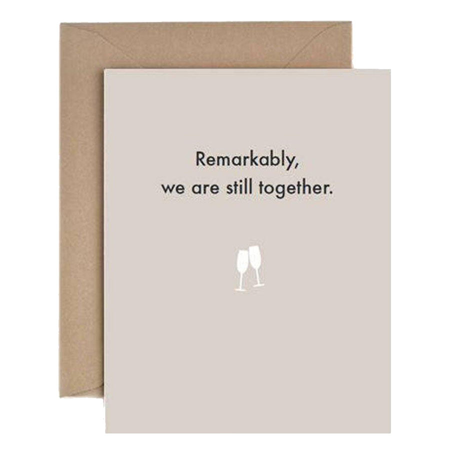 Remarkably Still Together Card