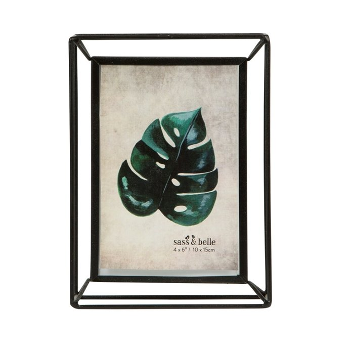 Metal Wire Outline Photo Frame