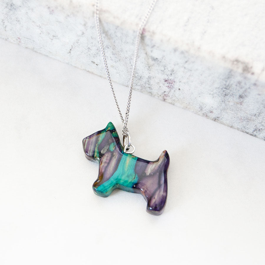 Scottie Dog Pendant Necklace