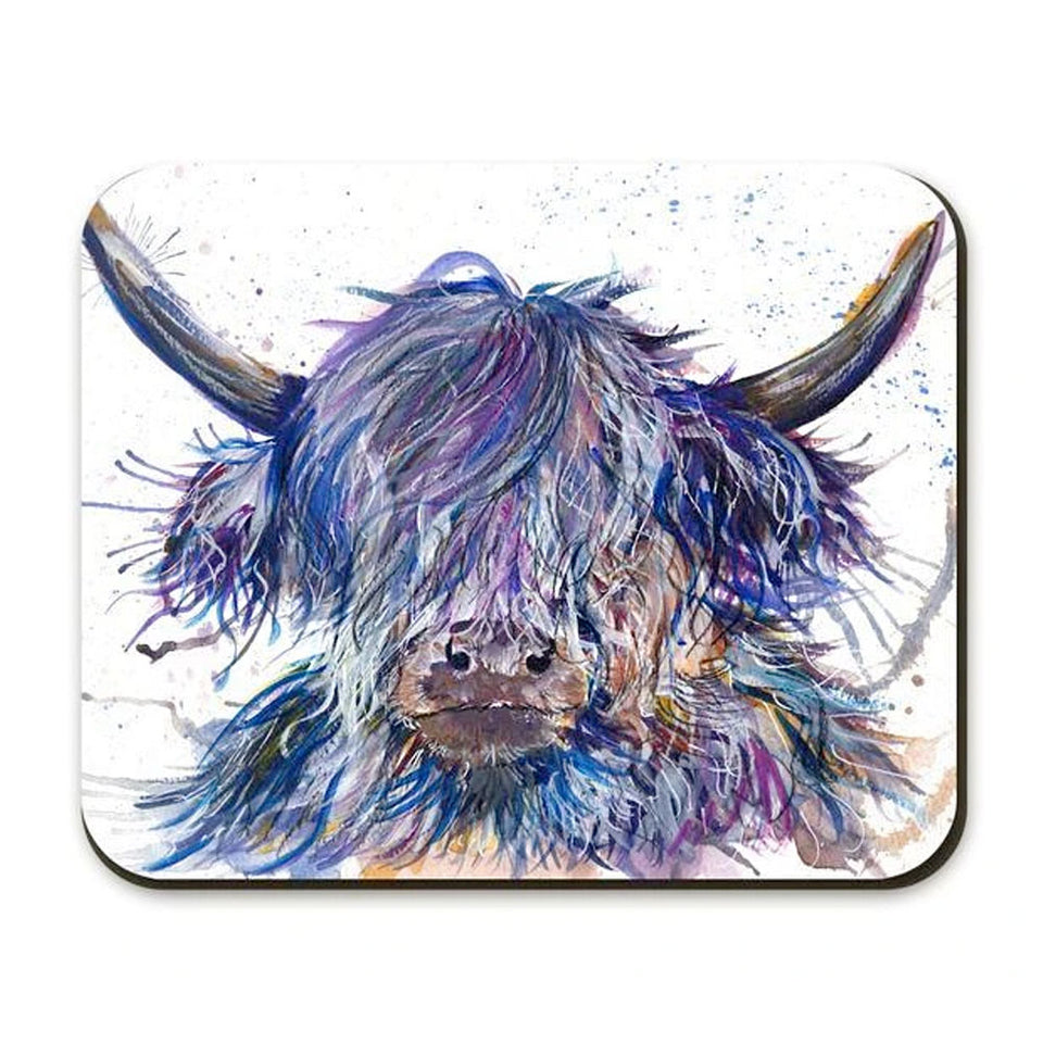 Splatter Design Scruffy Coo Placemat