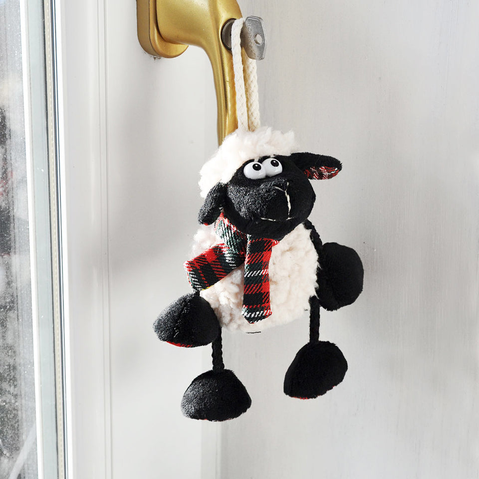Tartan Sheep Hanger Assorted Designs