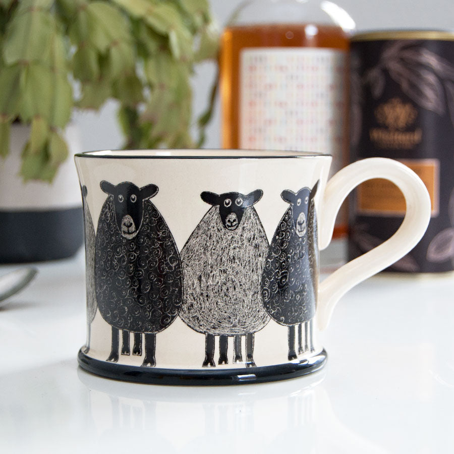 Scottish Sheep Ceramic Mug
