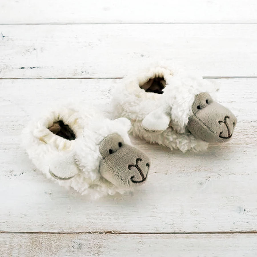 Soft Sheep Baby Slippers