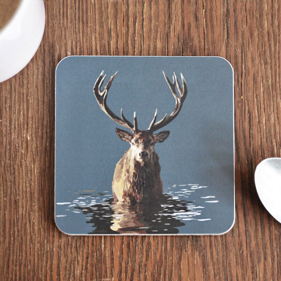 Stag in Water Coaster