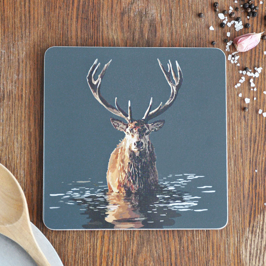 Stag in Water Pot Stand Placemat