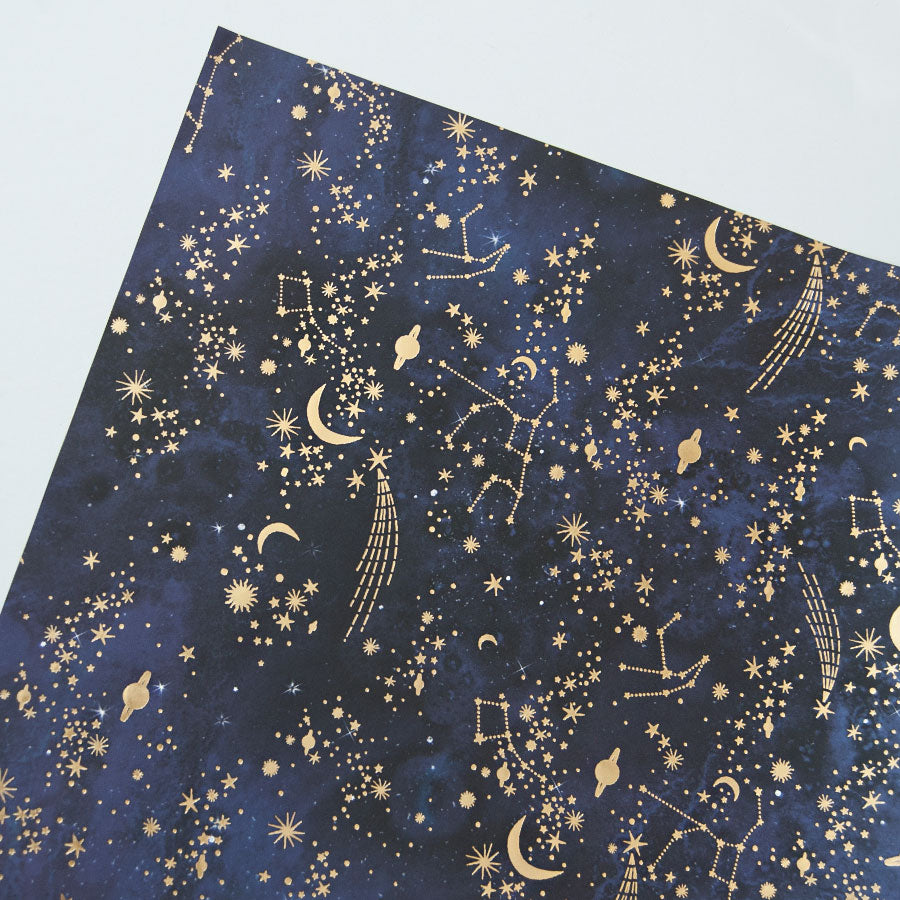 Star Constellations Gift Wrap