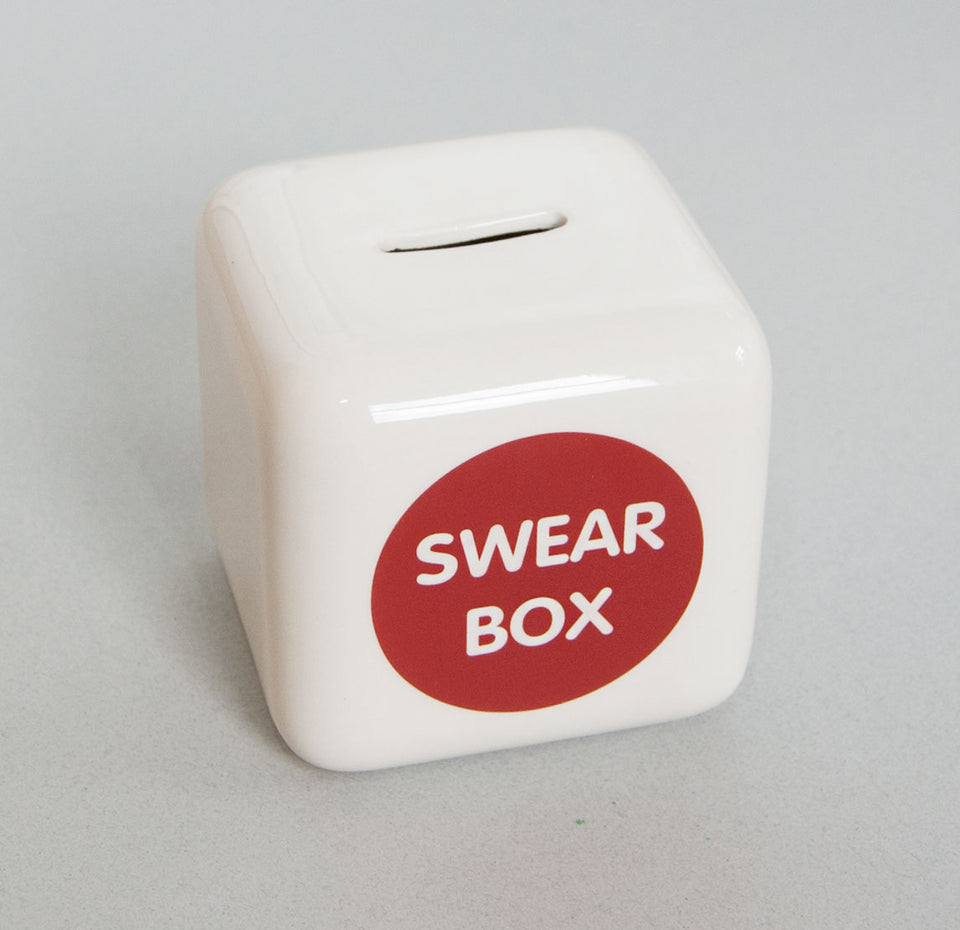 Swear Box Money Bank