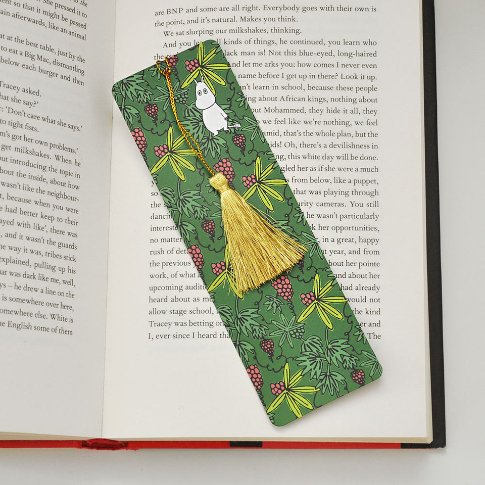 Moomin Valley Bookmark with Tassel