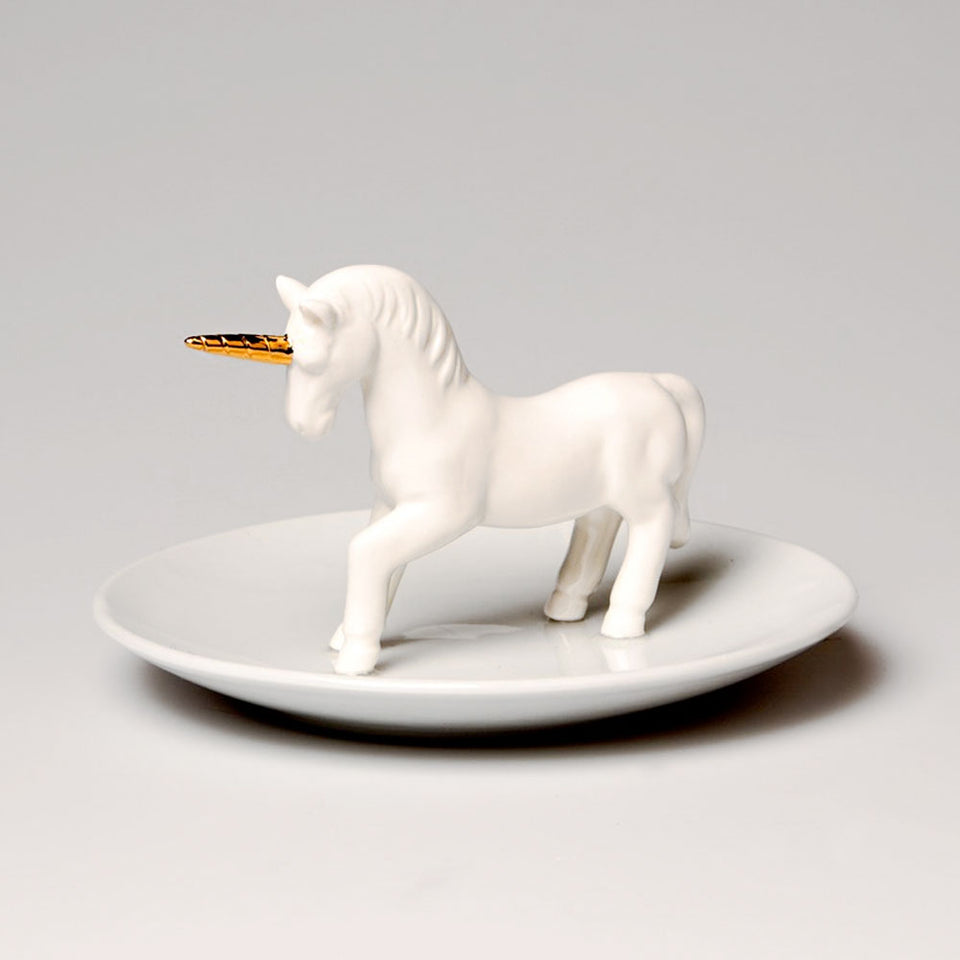 Small Unicorn Jewellery Dish