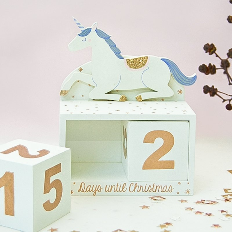 Princess Unicorn Advent Calendar Block