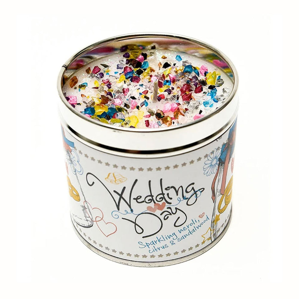 Just Because Wedding Day Candle