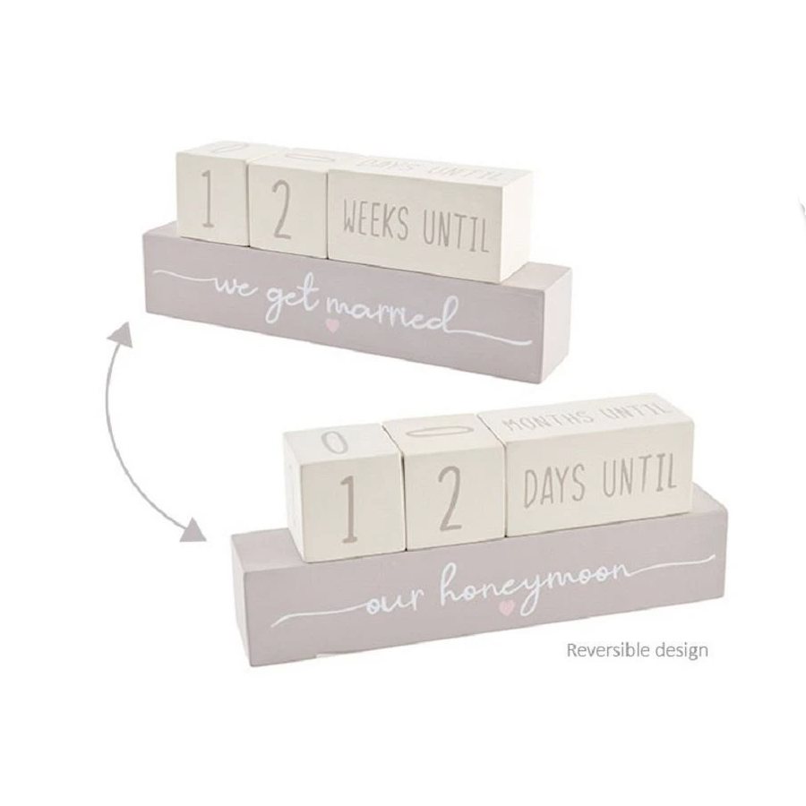 Marriage & Honeymoon Countdown Block