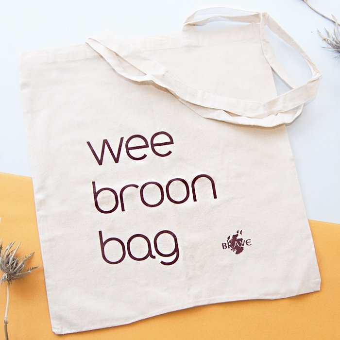 Wee Broon Bag Light Tote Bag