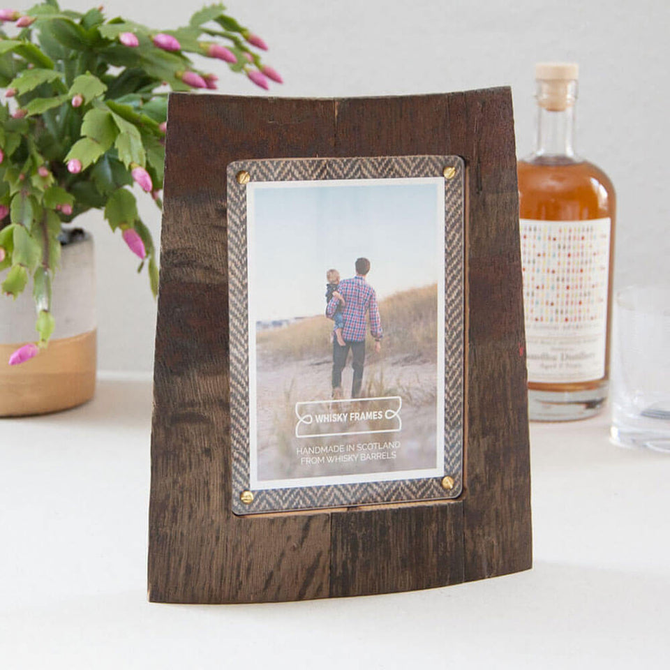 Bronze Whisky Barrel Chime Frame