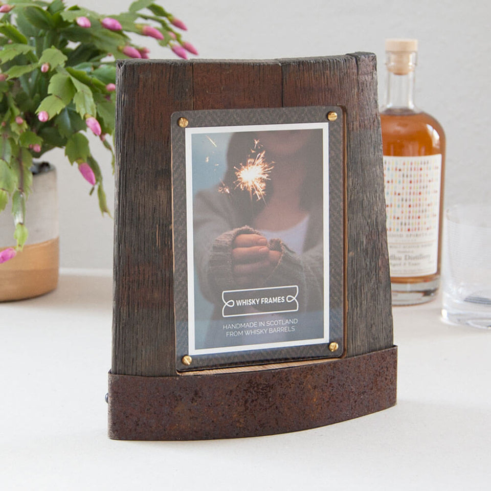 Whisky Barrel  Ring Chime Frame