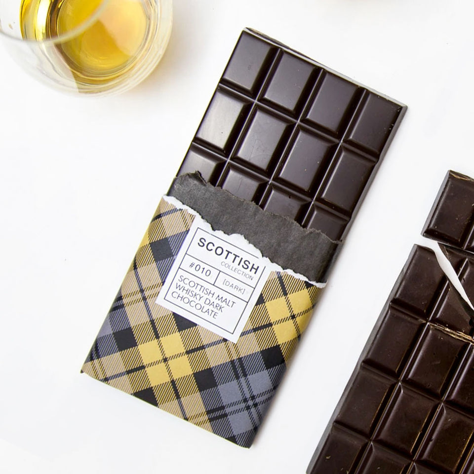 Dram Of Whisky Dark Chocolate Bar