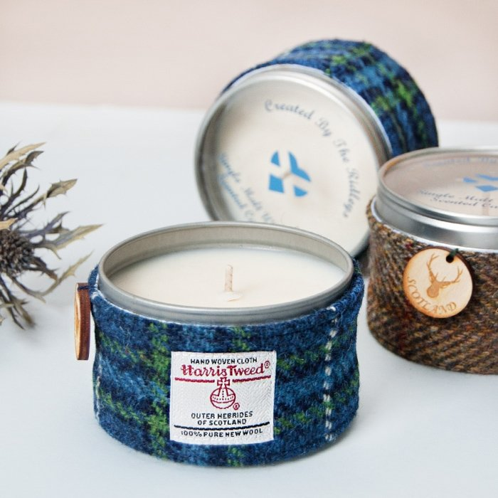Single Malt Whisky Candle in Tin