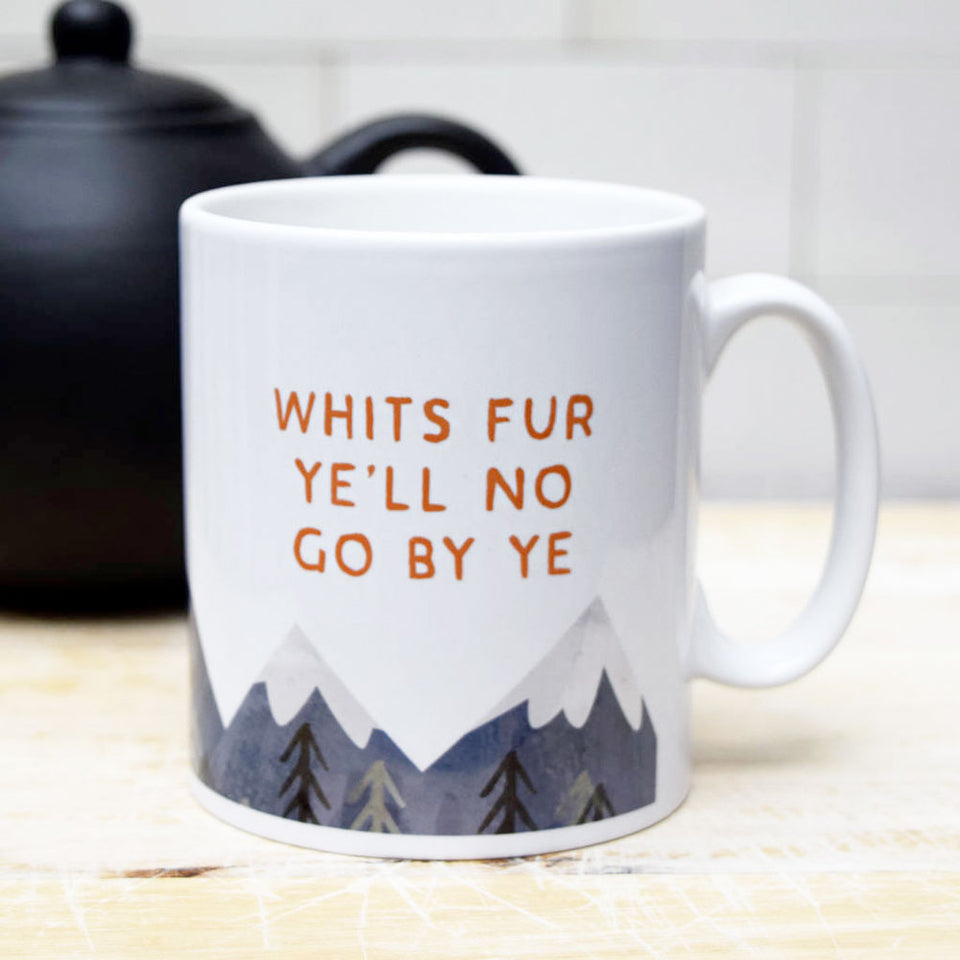 Whits Fur Ye Ceramic Mug