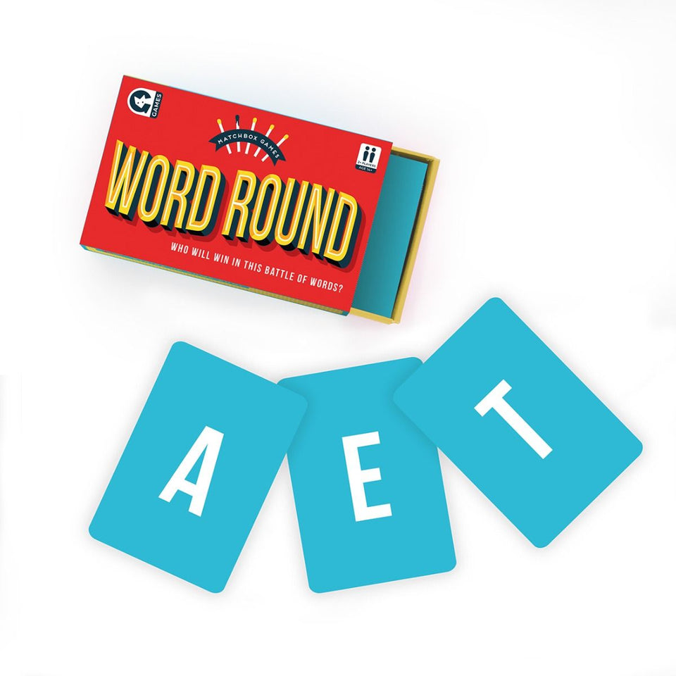 Matchbox Game - Word Round