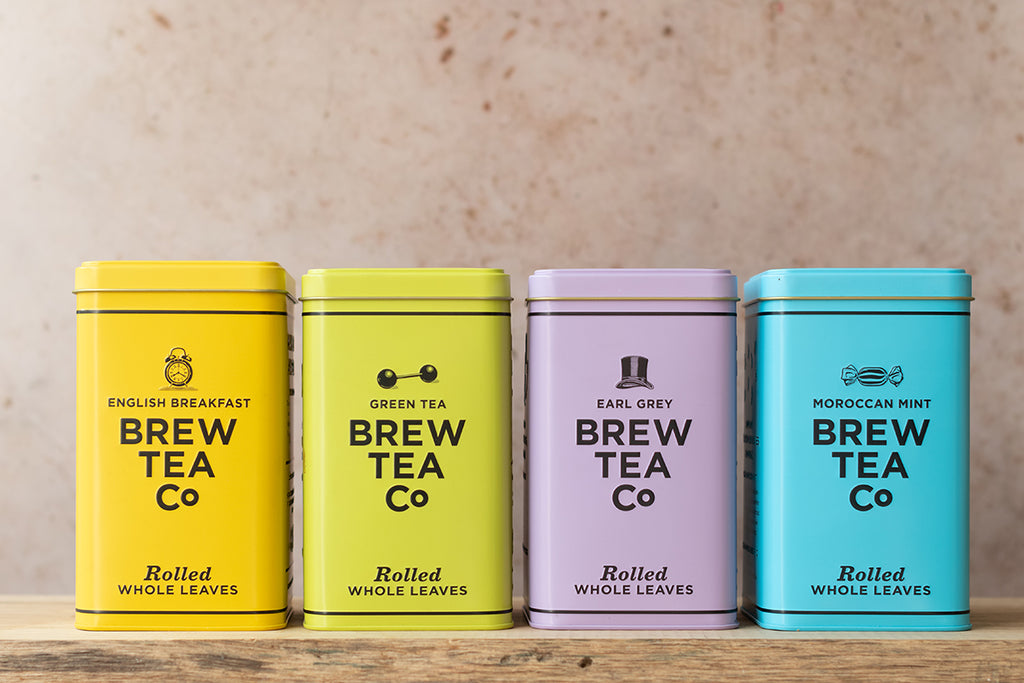 Brew Tea Co Tin Collection - Life Before Plastik