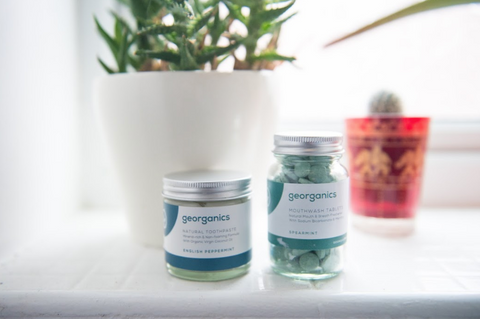 Georganics Mouthwash Tablets - Life Before Plastik
