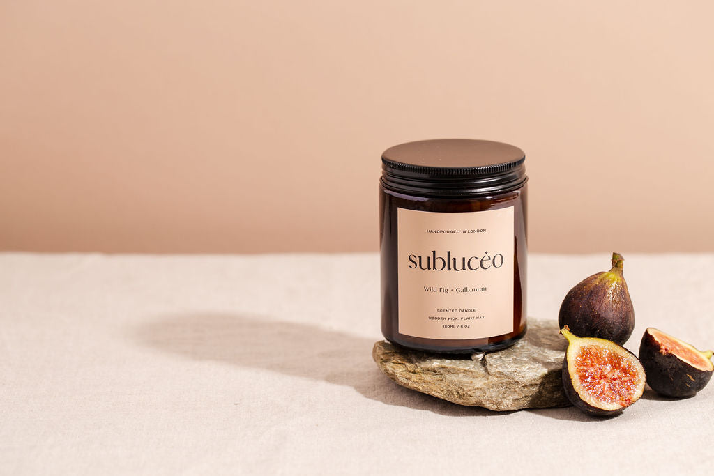 Wild Fig Soy Wax Candle - Subluceo - Life Before Plastik