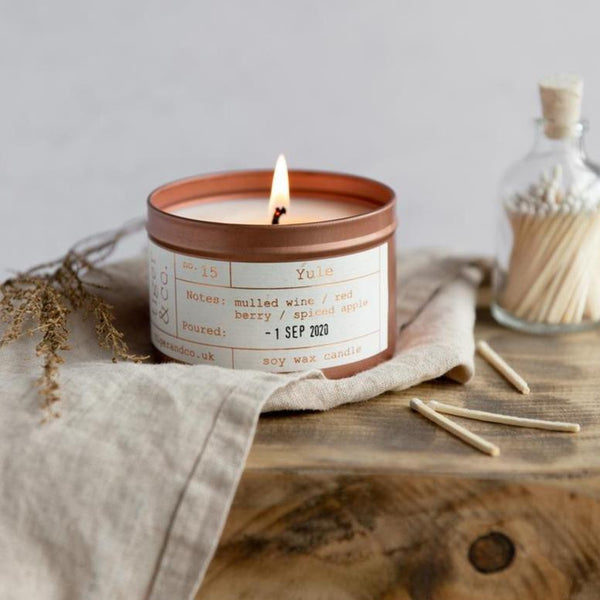 Yule Soy Wax Candle - Life Before Plastik