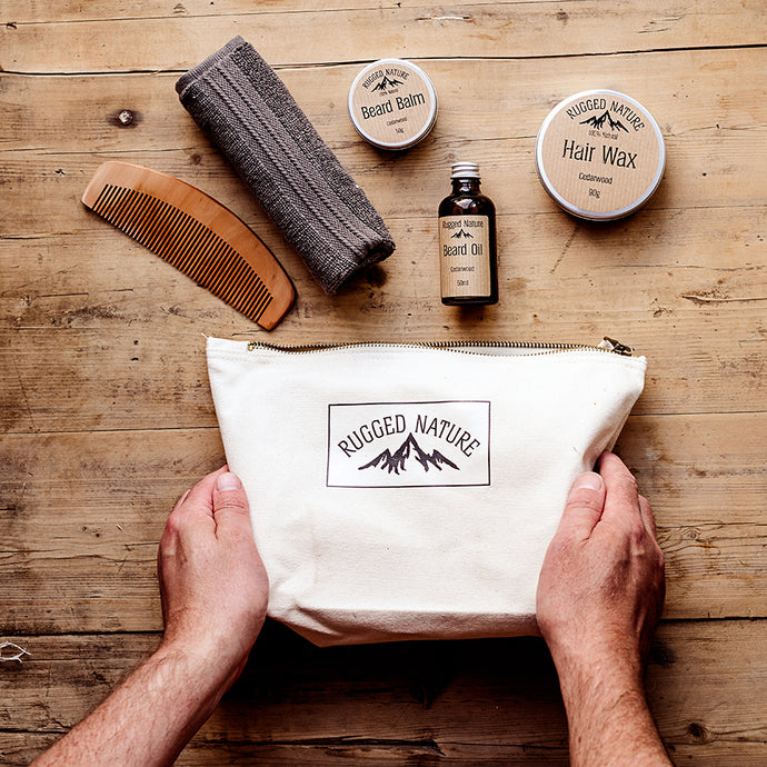 Hair & Beard Kit | Rugged Nature | Life Before Plastik