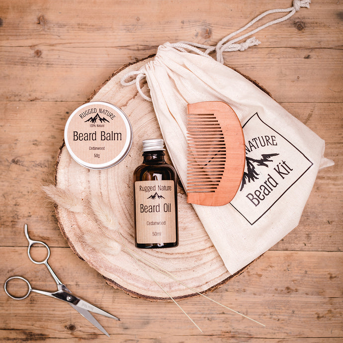 Beard Kit | Rugged Nature | Life Before Plastik