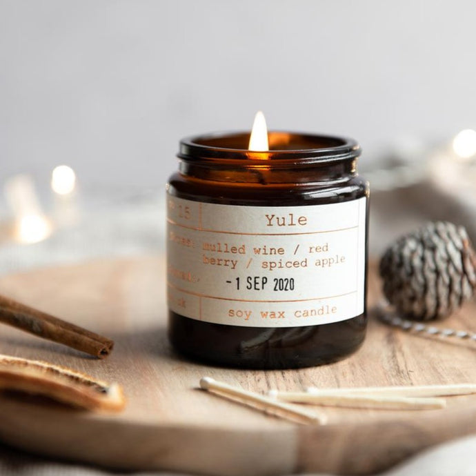 Tiger & Co Limited Edition: Yule Soy Wax Candle - 20h  - Life Before Plastik