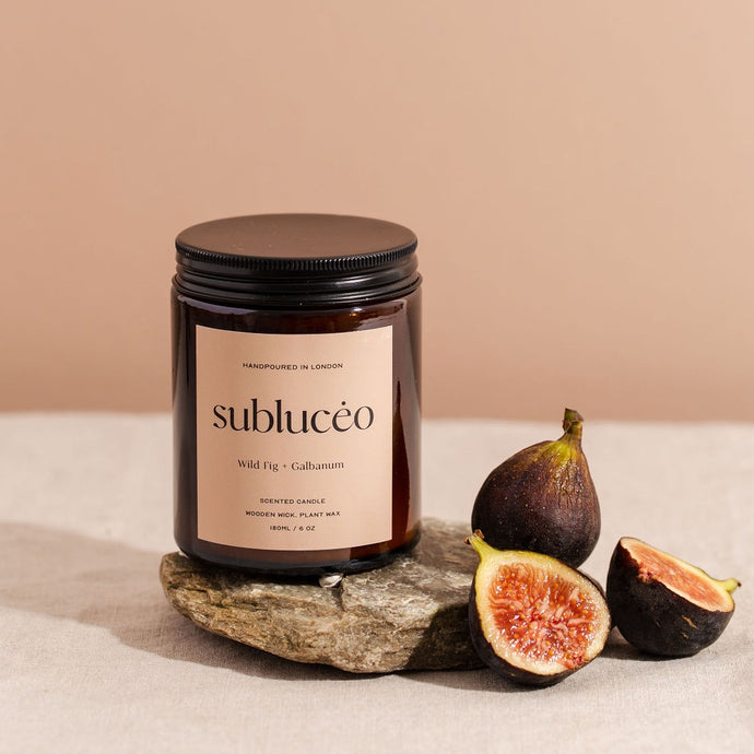 Wild Fig & Galbanum Soy Wax Candle - 35h - Subluceo - Life Before Plastik