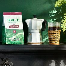 Load image into Gallery viewer, Percol Bold Peruvian Ground Coffee - Life Before Plastik